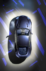 Vanquish 25 Spotlight Top View
